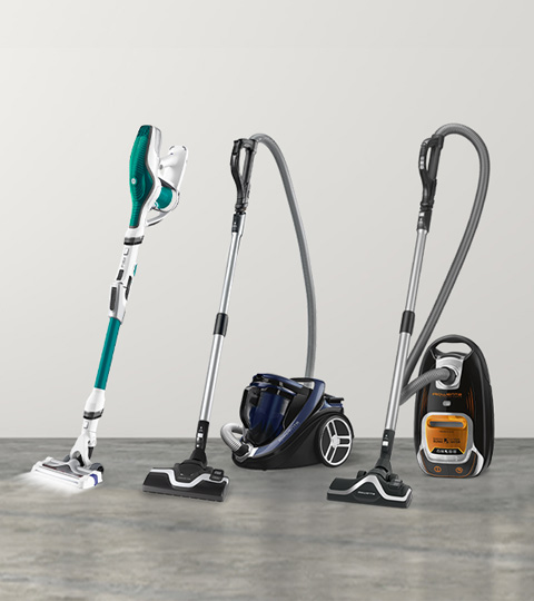 Multiple Rowenta vacuum cleaners